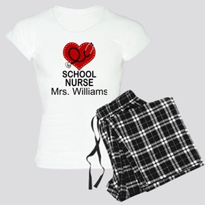 School Nurse Personalized Pajamas